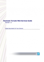 Tornado (v1.3) - Web Services Guide